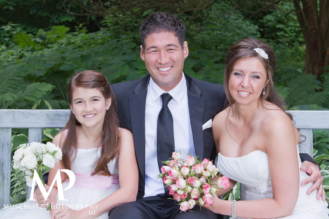 Park of Roses Wedding Portraits