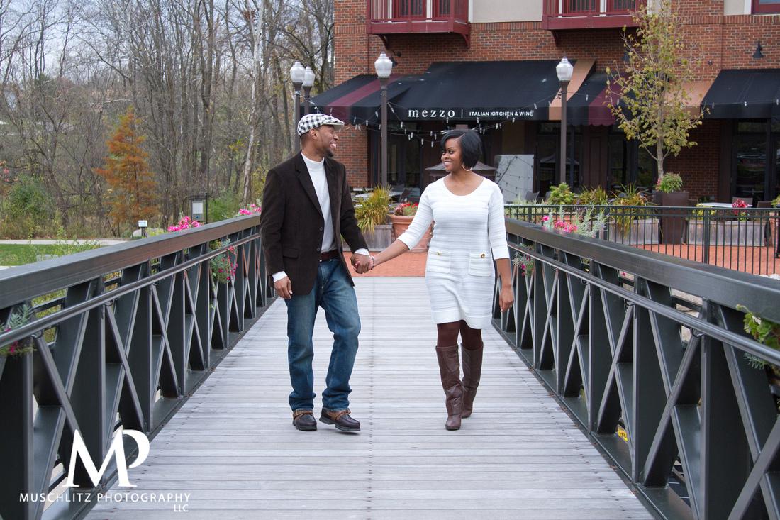 Creekside Park Gahanna, Ohio Engagement Photos