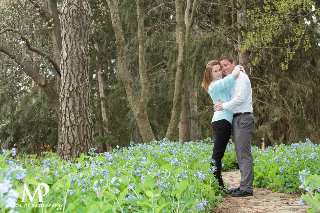 Muschlitz Photography LLC | Karin + Matt\'s Spring Engagement ...